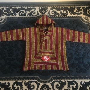 49ers fleece sweater